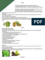 Recopilacion plantas medicionales