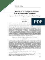 Importancia de La Biologia Molecular