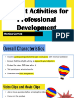 airtight activities for pd