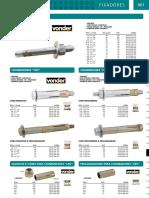 Catalogo de Parabolt