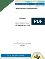 Evidencia 8 Act 19 Caso Simulado Exportacion