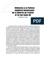 05. Militares y La Política en República Dominicana... Wilfredo Lozano