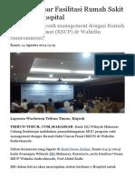 BRI Makassar Fasilitasi Rumah Sakit Sistem E-Hospital - Tribun Timur