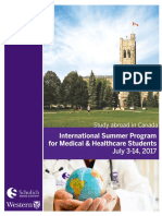 2017 International Summer Program -Brochure