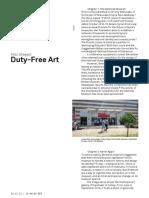 H. Steyerl - Duty-free Art