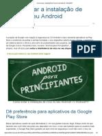 Como Evitar a Instalação de Vírus No Seu Android - AndroidPIT