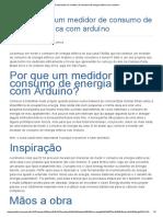 Construindo Um Medidor de Consumo de Energia Elétrica Com Arduíno