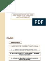 Présentation Sur Les Biens Publics Mondiaux2