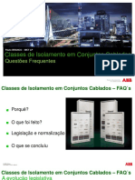 ABB Classes de Isolamento Em Conjuntos Cablados