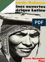 Les Veines Ouvertes de L_Amérique Latine (Eduardo Galeano)