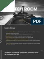 WATCH ROOM Executive Summary 6.26