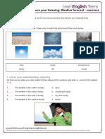 Weather Forecast - Exercises 0