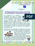 Recomendaciones para el Uso de las TIC en escolares.pdf