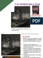 El Coloso y Su Atribucion a Goya