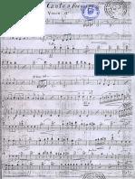 Mi Canto a Arequipa Violin 1