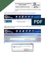 Manual Documentos en Biblioteca File System - AuraPortal