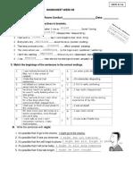 Worksheet Semana 09