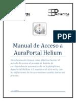 Manual de Acceso - AuraPortal