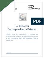Manual Rol Redactor - Proceso
