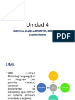Unidad 4_a HERENCIA, CLASES ABSTRACTAS, INTERFACES Y POLIMORFISMO. UML