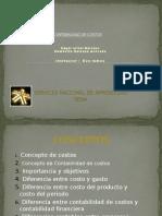 Diapositivas de Costo Edgar