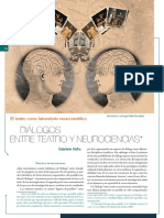 Dialogos Entre Teatro y Neurociencia