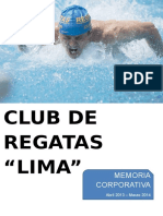 Memoria Club Regatas