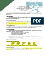 Convocatoria & Reglamento General - Piloto Bolivia