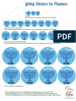 Robinsampson_hanukkah Candle Stickers