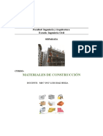 Separata Materiales de Construcción