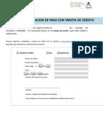 PERUMIN 2017-Autorizacion de Pago Con Tarjeta de Credito