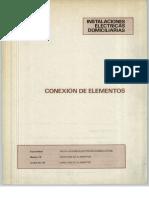 Vol. 45 Instalaciones Eléctricas Domiciliarias Conexión de Elementos