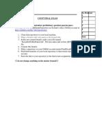 Cs3337 2016 Fall Final Exam Key Results Software Engineering Exam CSULA