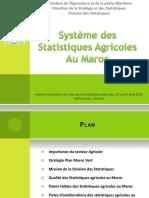 10.Maroc_Présentation_Statistiques_Agricoles