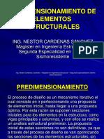 PREDIMENSIONAMIENTO  concreto 2016