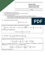 EXF 2014-II (Solución)