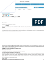 Planul de Afaceri - SC Eugendo SRL