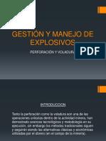 Gestión y Manejo de Explosivos