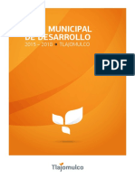 Plan Municipal de Desarrollo 2015 2018