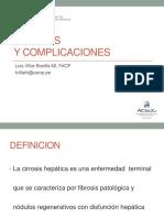 Cirrosis y Complicaciones