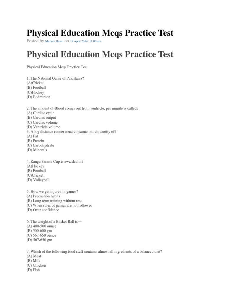 Physical education mcqs practice tests past papers solveddocx1 physical education mcqs practice tests past papers solveddocx1 heart valve muscle fandeluxe Image collections