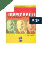WARDE. Historiografia Da Educação Brasileira; Mapa Conceitual e Metodológico (Dos Anos 1970 Aos Anos 1990)