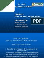 diapositivas OPTICA