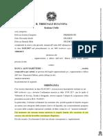 Tribunale Di Savona Sull Euro Scritturale NON Del Popolo Sovrano