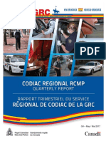 RCMP Quarterly Report 2016 Quarter 4