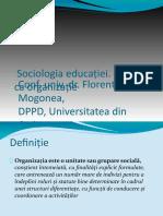 Sociologia_educatiei_Scoala-organizatie.odp