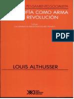 FFilosofía Como Arma Para La Revolución