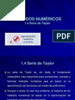 2. Serie de Taylor-raices, Biseccion 2016