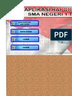 Aplikasi Raport K-13 SMA PP 53 TH 2015