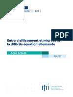 Ndc 138 a. Salles Vieillissement Migrations Allemagne Juin 2017